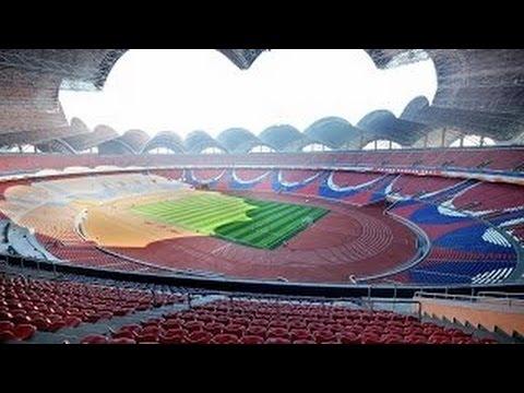 The Largest Stadium In The World / Rungrado 1st of May Stadium / Pyongyang, North Korea