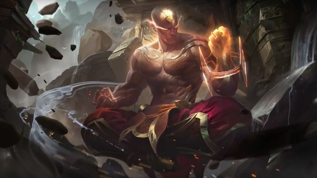 League of Legends Official God Fist Lee Sin 2017 Skin Trailer ...