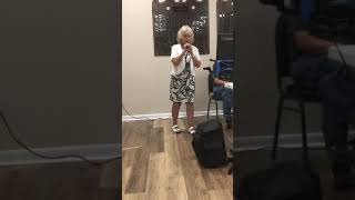 Donna singing Funny Face