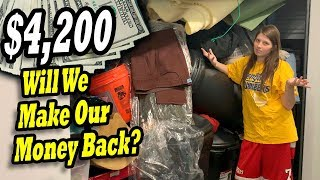$4200 WILL WE MAKE MONEY BACK? I bought an abandoned storage unit and found military duffle bag