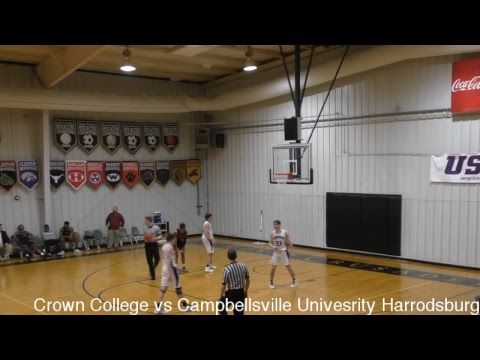 USCAA Basketball • Crown College vs Campbellsville University Harrodsburg • February 26, 2019