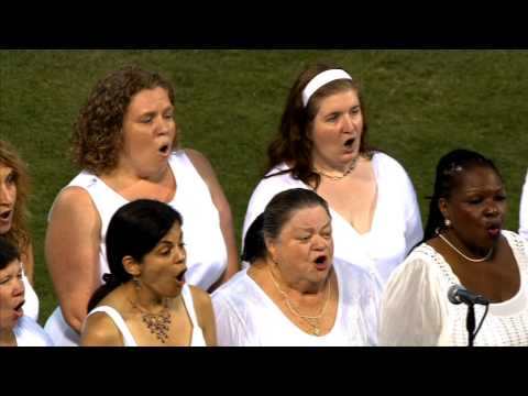The Savoy Company Sings the National Anthem 2014