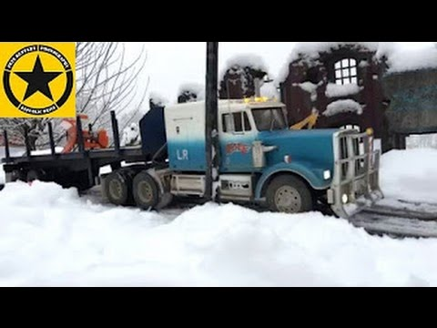 BRUDER TOY Trucks TAMIYA King Hauler Ice Trucking SNOW WORLD 😊