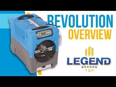 Dri-Eaz Revolution LGR Compact Commercial Dehumidifier F413