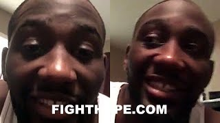 """TERENCE CRAWFORD REACTS TO PACQUIAO BEING ON HIS UNDERCARD; DOUBTFUL THEY EVER FIGHT: """"HARD TO SAY"""""""