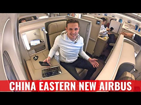 Review: CHINA EASTERN AIRLINES New A350 - CHINA's BEST BUSINESS CLASS?
