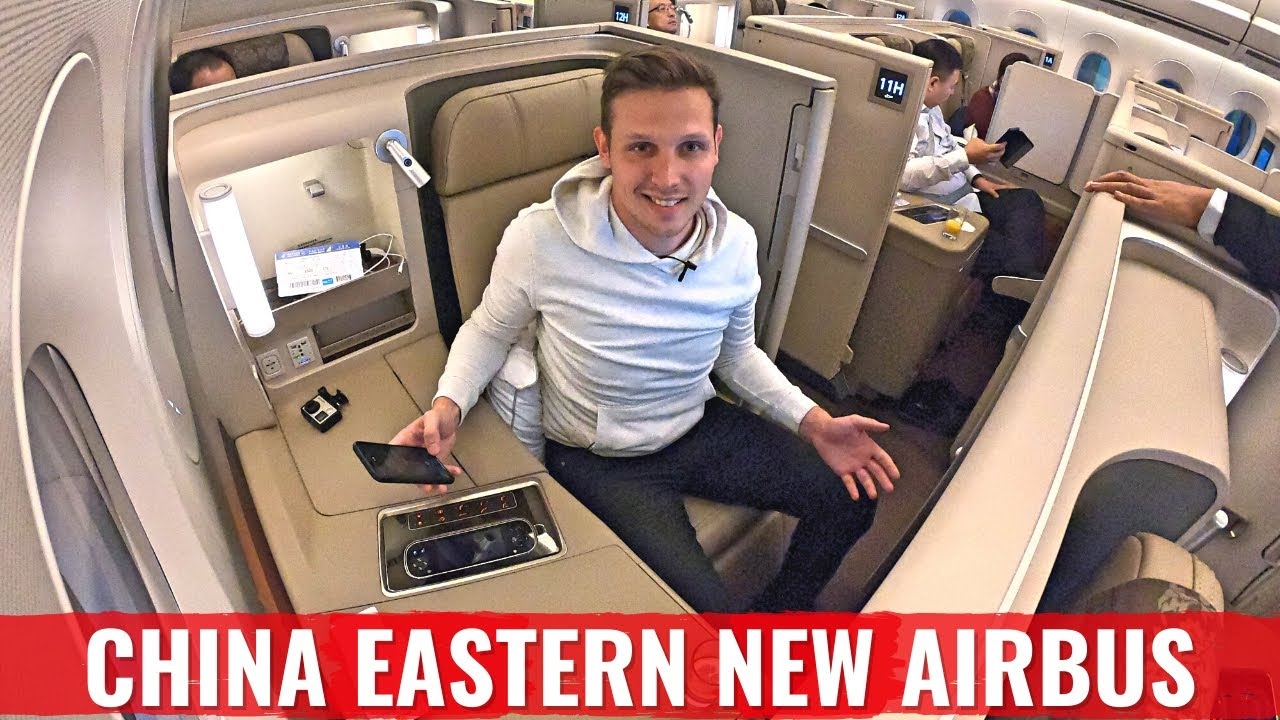China Southern Airlines Business Class Flight Airbus A330 ... |Chinese Merchant Class