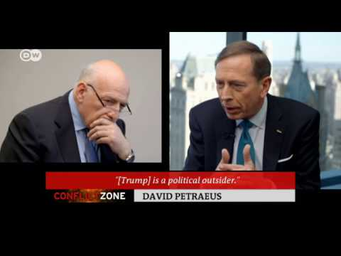 David Petraeus on Trump Presidency | Conflict Zone