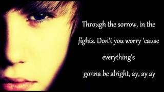 Justin Bieber - Be Alright (acoustic version) Lyrics.wmv