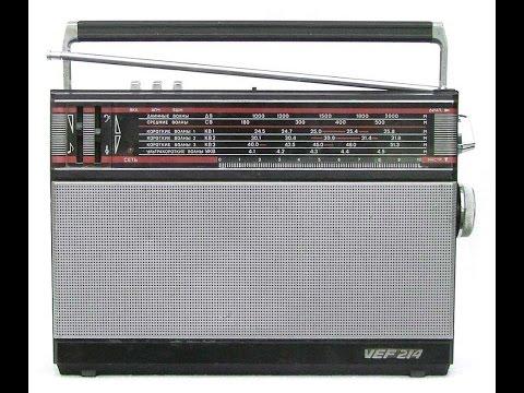 VEF 214 радиоприемник. Перевод с УКВ на FM
