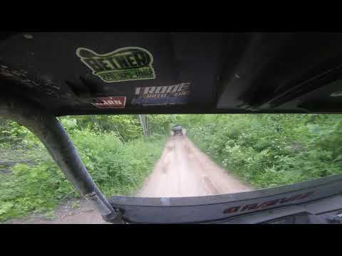 YAMAHA WOLVERINE X2 TACKLES BLACK TRAIL 70 ON HMT
