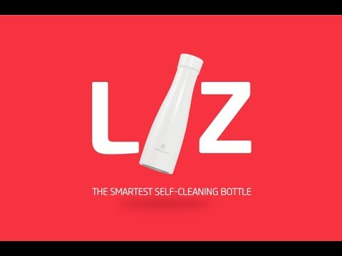 hqdefault - LIZ: a smart bottle with UV sterilization and hydration reminders