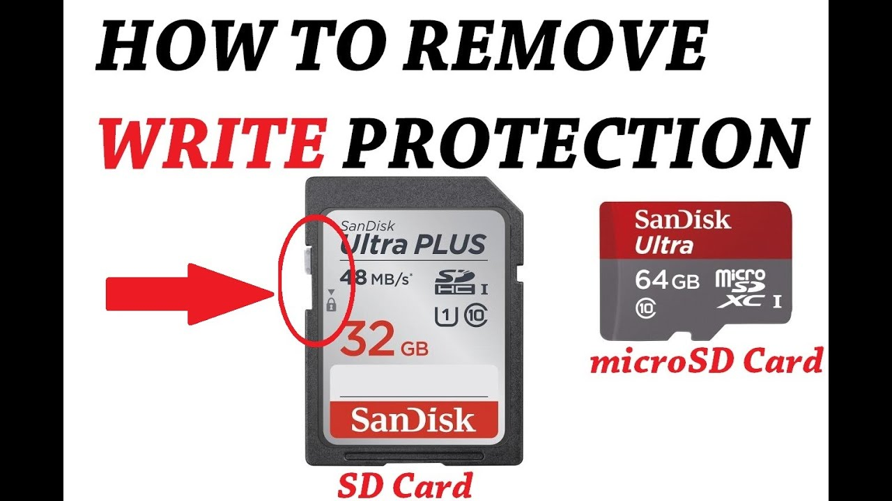 valiză Umil In mod regulat the drive is write protected sd card