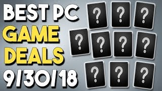 Top 10 BEST PC Game Deals of the Week 9/30/18 - GREAT Fanatical Bundle + More!