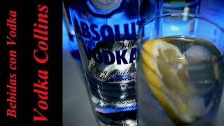 Como Preparar El Coctel Vodka Collins