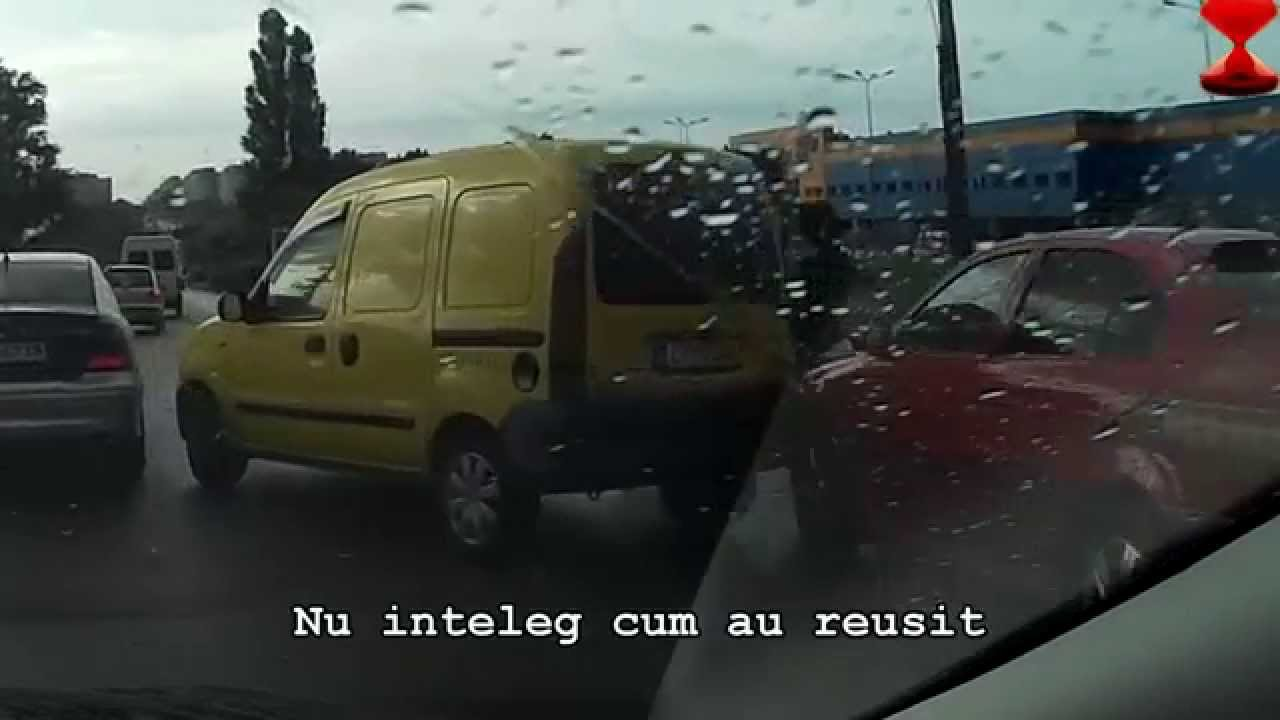 Amestecate din trafic (20) [filmare trafic]