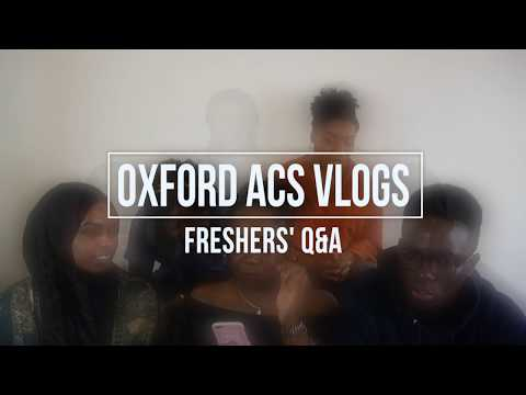 Oxford ACS Freshers Q&A | Friends, Catering, Finding Your Place and more