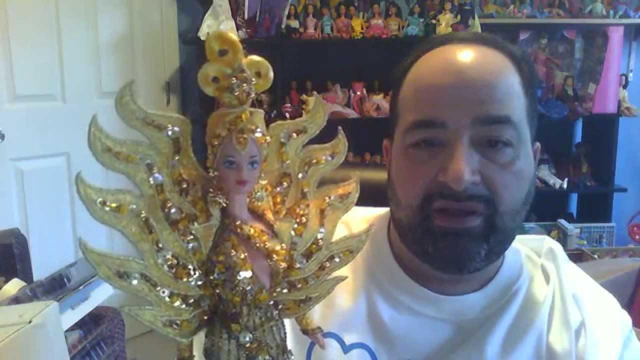 Barbie Dolls Of The Week 49 Bob Mackie Barbie Dolls Youtube