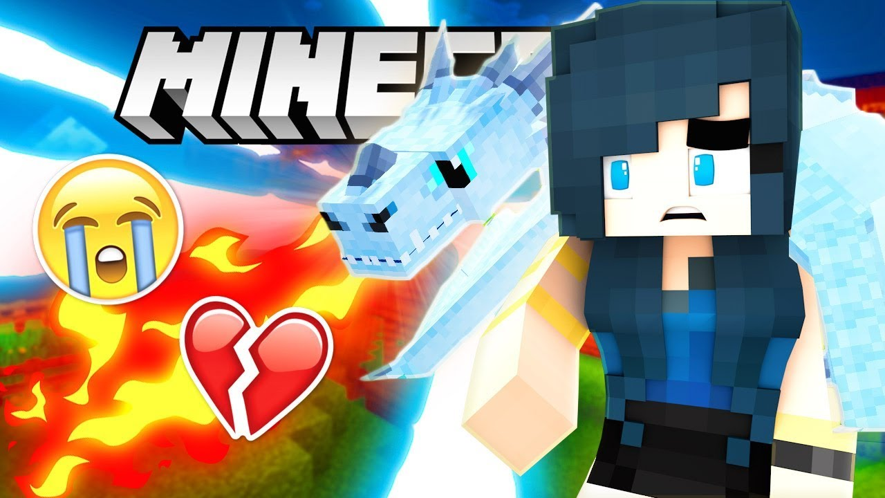 Legendary Ice Dragon Attacks Krewcraft Minecraft Survival