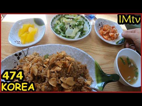 Южная Корея. Еда в Сеуле. Старый район Сеула. Граждане спят, воскресенье