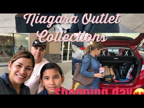 Shopping Day, Niagara Outlet Collections