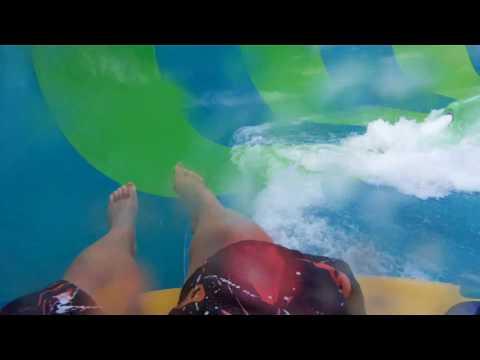 Canonbowl (HD POV) Shining Waters Family Fun Park, Cavendish Beach, PEI, Canada