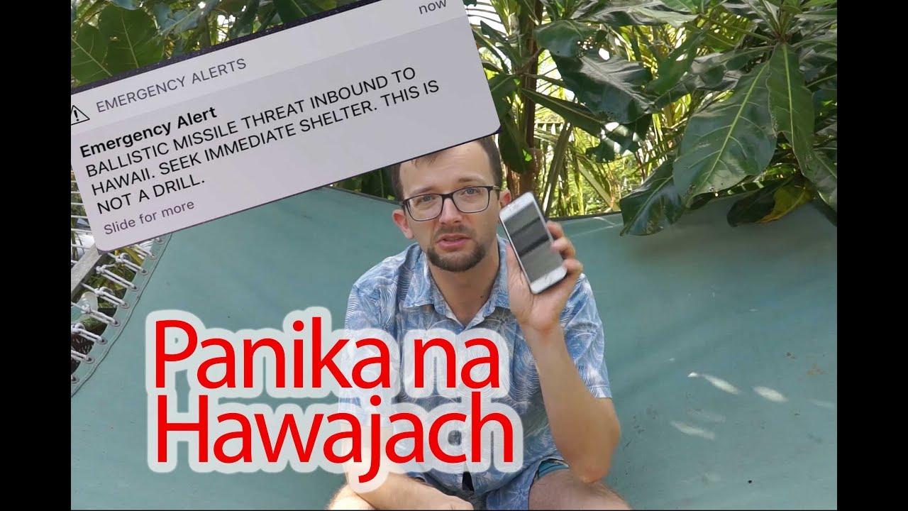 Panika na Hawajach z powodu systemu wczesnego ostrzegania