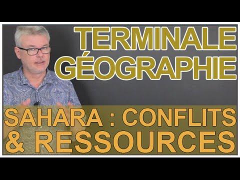 Le Sahara : ressources & conflits - Histoire-Géo - Terminale - Les Bons Profs