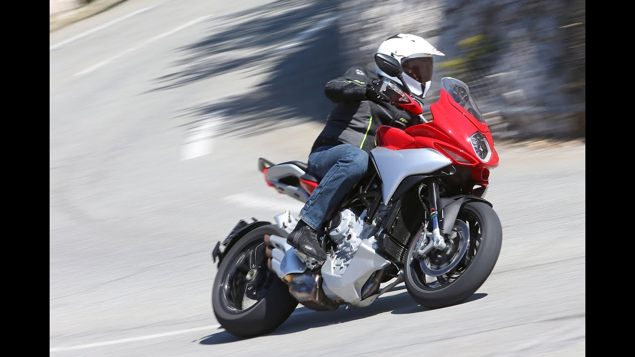 mv agusta turismo veloce 800 - test moto.it - youtube