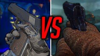 BO3 M1911 VS BO2 M1911 COMPARISON   