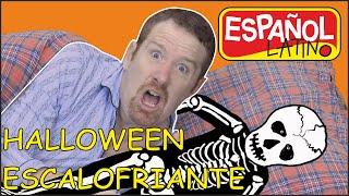 Noche de Halloween | Monstruos, Esqueletos y Brujas para Niños | Steve and Maggie Español Latino