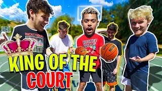2HYPE Mini NBA Basketball King of the Court Challenge!!
