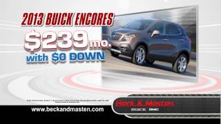0 Down 0 Percent Event - Beck and Masten Buick GMC