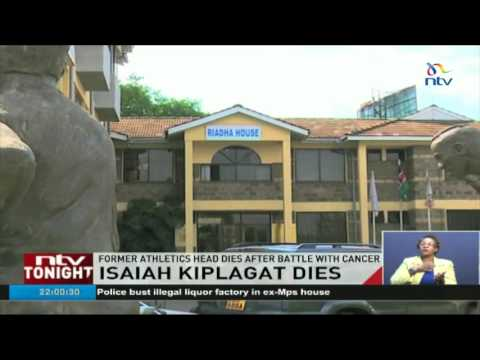 Former Athletics Head Isaiah Kiplagat dies after battle with cancer