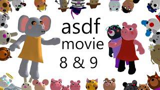 [SFM/PIGGY] ROBLOX PIGGY ASDF Movie #8 & #9