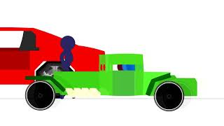 Download Race Cars - Animation vs. Minecraft (fan made) Mp3 and Videos