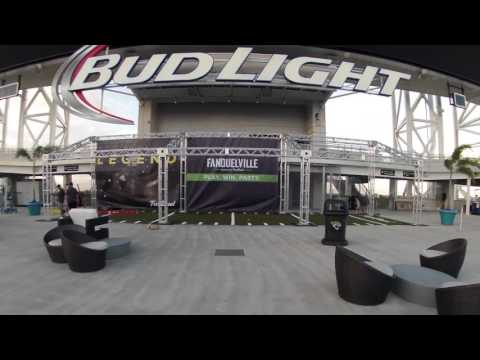 Brand Activation for FanDuel by Pinpoint at Jacksonville Jaguars Stadium
