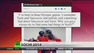 Ovechkin blasts media coverage of Sochi Olympics