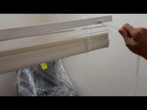Como montar uma persiana