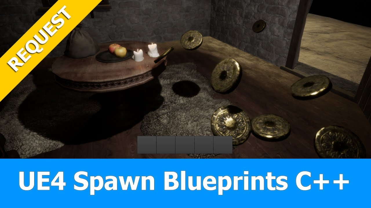 Unreal Engine Spawn Blueprint Actors with C++