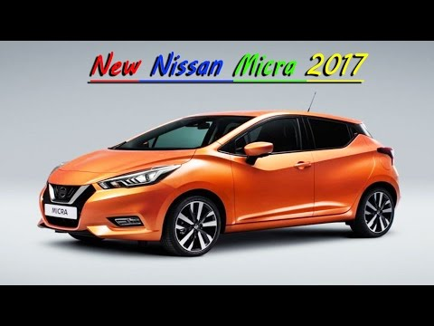 New 2017 Nissan Micra REVEALED l Upcoming Cars in india 2017 l NISSAN  CAR