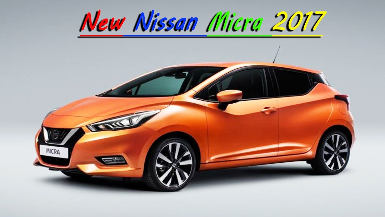 New 2017 Nissan Micra Revealed L Upcoming Cars In India Car