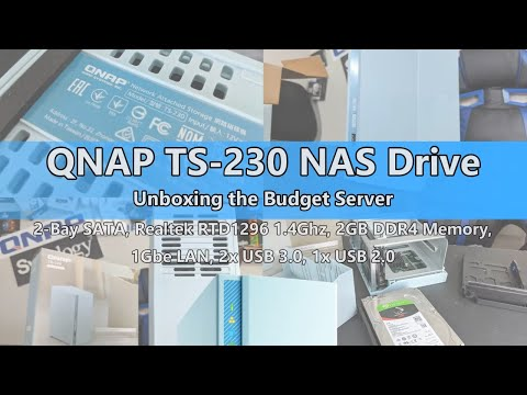 unboxing-the-qnap-ts-230-2-bay-budget-nas-drive
