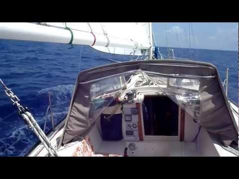 Yacht  paseafique under sail A1
