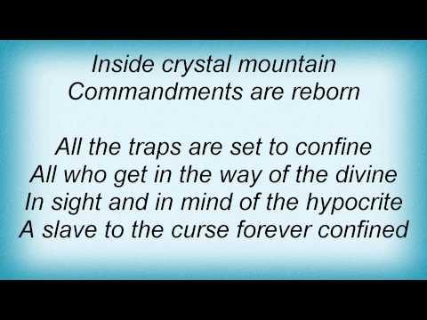 Death - Crystal Mountain Lyrics