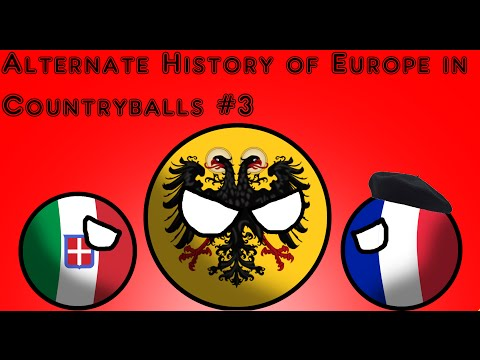 Alternate History of Europe in Countryballs | Part 3 | Oh, the holiness!