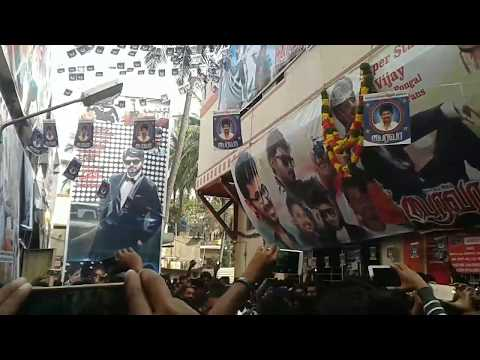 Bairavaa FDFS Bangalore Celebration