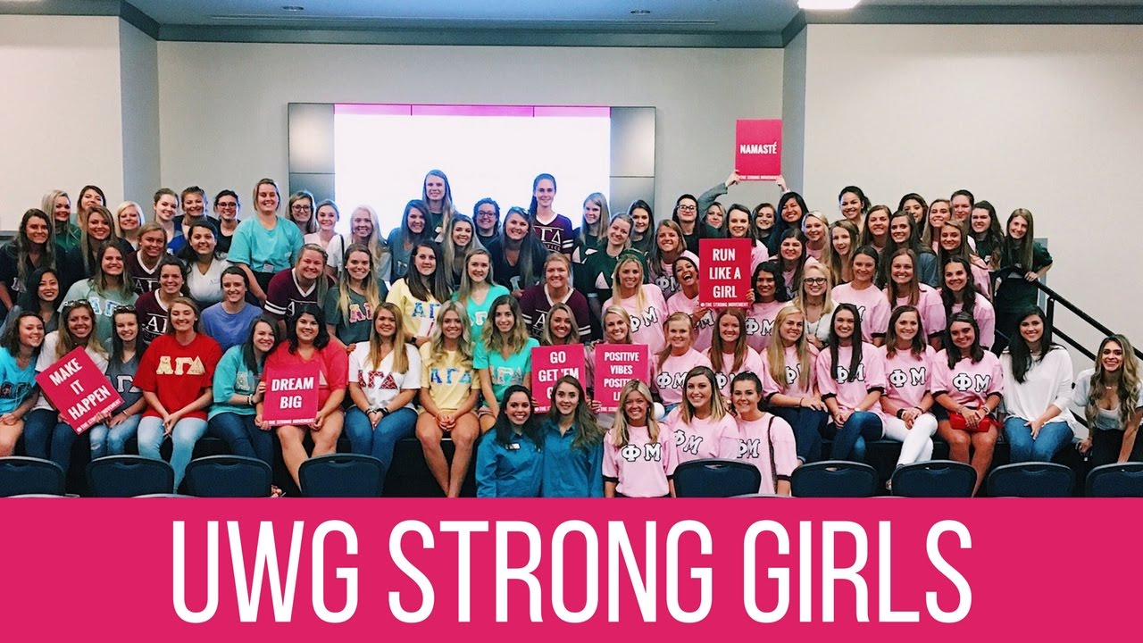 West Georgia College >> Strong Girl College Tour University Of West Georgia Strong Girl Workshop Workout