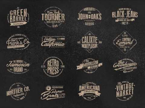 Get Your Custom Vintage Logo From Indie Logos