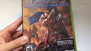 UNBOXING Halo 2 Multiplayer Map Pack | Xbox